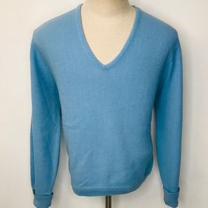 Vintage IZOD of London V Neck Sweater Made in USA